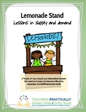 Lemonade Stand: An elementary economics lesson simulation in supply and demand