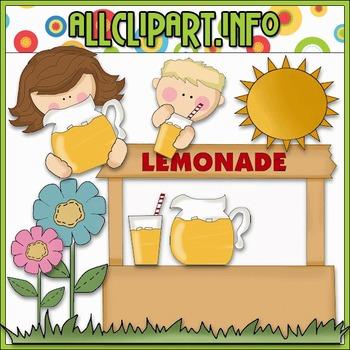 Lemonade Stand Clip Art - Cheryl Seslar Clip Art