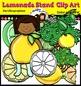 Lemonade Stand  Clip Art set- Color and B&W- 35 items!