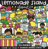 Lemonade Stand Clipart MEGA Set {lemonade kids clipart}