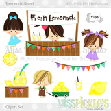 Lemonade Stand- Commercial Use Clipart Set
