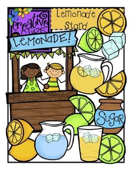 Lemonade Stand {Creative Clips Digital Clipart}