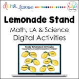 Lemonade Stand Digital Activities