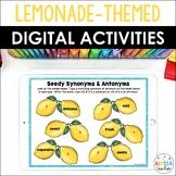 Summer-themed Digital Activities {Lemonade Stand} - Distan