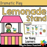 Lemonade Stand Dramatic Play