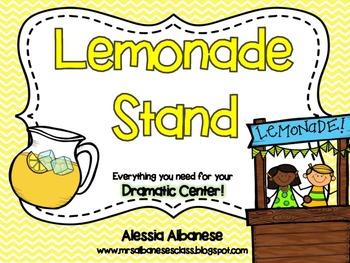 Lemonade Stand Dramatic Play Center