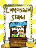 Lemonade Stand Freebie