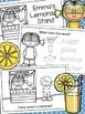 Lemonade Stand Interactive Reader - Reading, Writing, & Math