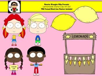 Lemonade Stand Kids Clip Art