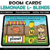 Lemonade Stand L-Blends for Boom Cards™