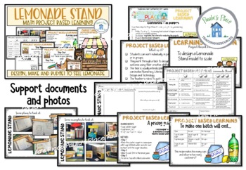 Lemonade Stand - Make a Model and create a Financial Plan