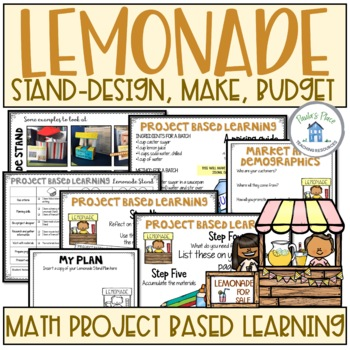 Lemonade Stand Make a Model and Create a Financial Plan