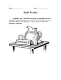 Lemonade Stand Math Packet