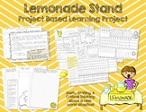 Lemonade Stand Math and Writing - Project Based Learning
