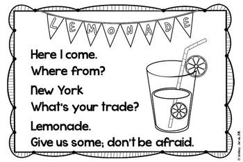 FREE Lemonade Stand - Photo Frame Insert