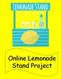 Financial Literacy - Online Lemonade Stand Project (with G
