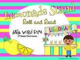 Lemonade Stand Roll and Read Sight Word Game: 1st Grade Dolch Words