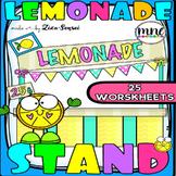 Lemonade Stand Sight Words Sentences Literacy No-Prep Work