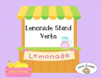 Lemonade Stand Verbs