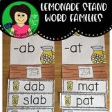 Lemonade Stand Word Families