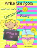 Lemonade Stand: Write the Room and Anchor Chart Activities