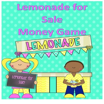 Lemonade Stand - can you count the change-money game