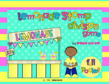 Lemonade Stomp Division Game Packet *Differentiated!*