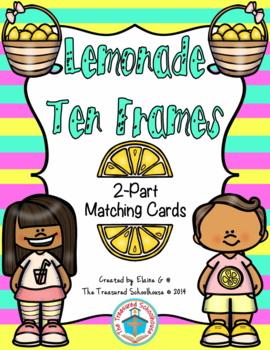 Ten Frame 2-Part Cards for 0-20