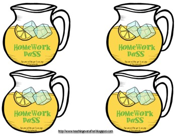 Lemonade Themed Pack for Use With Accelerated Reading