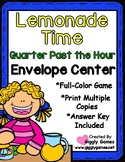 Lemonade Time Quarter Past the Hour Envelope Center