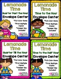 Lemonade Time Telling Time Envelope Center Set
