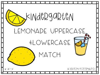 Lemonade Uppercase & Lowercase Matching