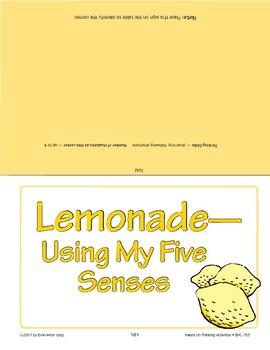 Lemonade: Using My Five Senses