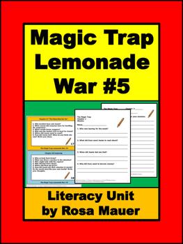 Lemonade War #5 The Magic Trap Book Unit
