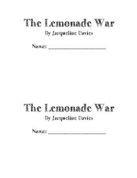 Lemonade War Book Club