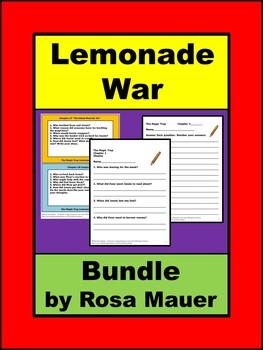 The Lemonade War Bundle