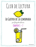 Lemonade War - Book Club - Spanish - Dual Language - Chapt