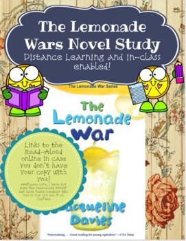 Lemonade War Chapter Comprehension Booklet