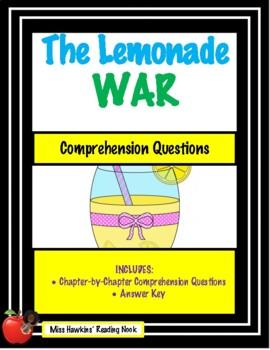 Lemonade War Comprehension Questions