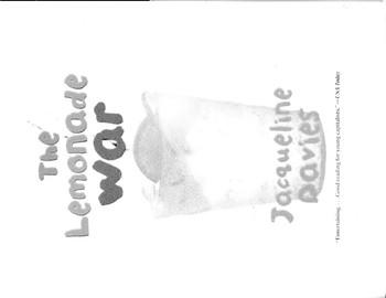 Lemonade War Comprehension and Study Guide