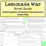 Lemonade War Novel Guide