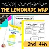 Lemonade War Novel Study
