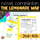 Lemonade War Novel Study