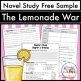 The Lemonade War Novel Study Unit: FREE Sample