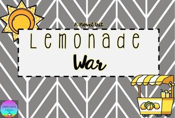 Lemonade War Novel Unit