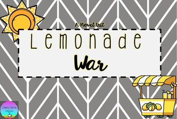 Lemonade War Novel Unit [English & Spanish]