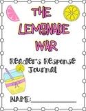 Lemonade War Response Journal