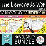 The Lemonade War and The Lemonade Crime Novel Study Unit Bundle