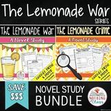 The Lemonade War and The Lemonade Crime Novel Study Distance Learning