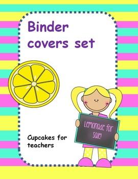 Lemonade binder covers